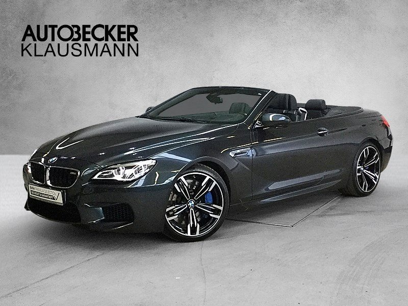 BMW M6 Cabrio Competition M Drivers P 20 Head-Up LED Aktivsitze Sitzlüft B&O, Jahr 2016, petrol