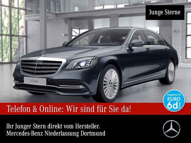 Mercedes-Benz S 560 L 4M 360° Stdhzg Multibeam Burmester Distr., Jahr 2018, Benzin