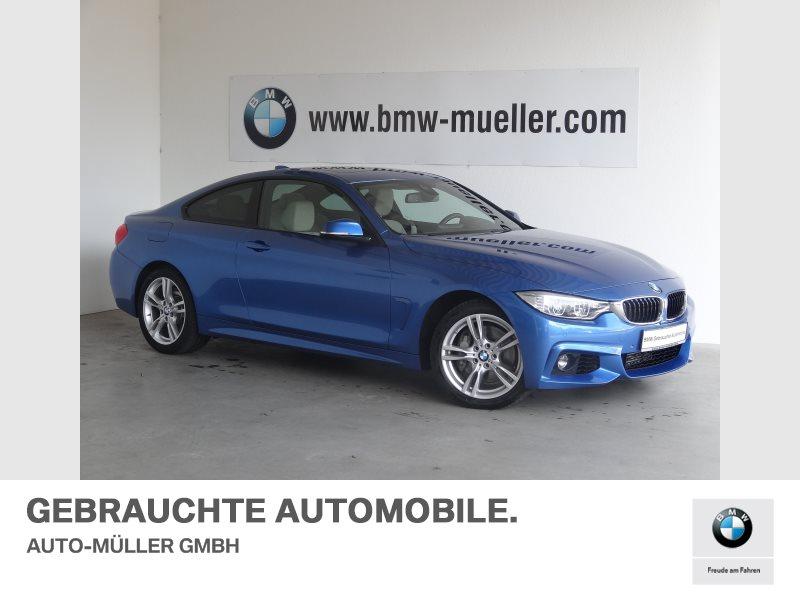 BMW 435d xDrive Coupé M Sportpaket HiFi Glasdach, Jahr 2015, Diesel