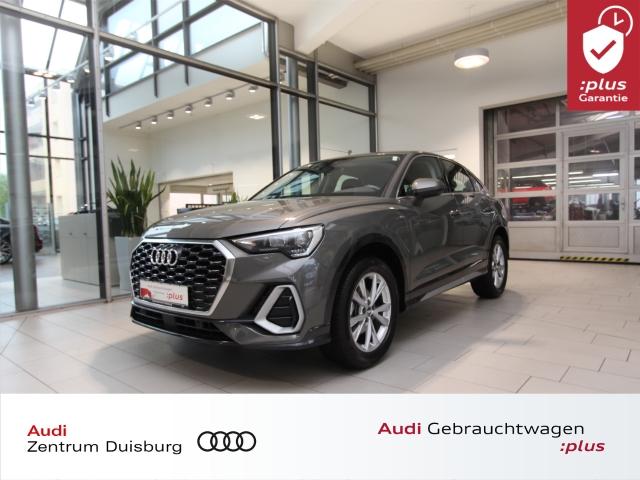 Audi Q3 Sportback 35 S line S tronic ACC AHK DAB, Jahr 2020, Benzin