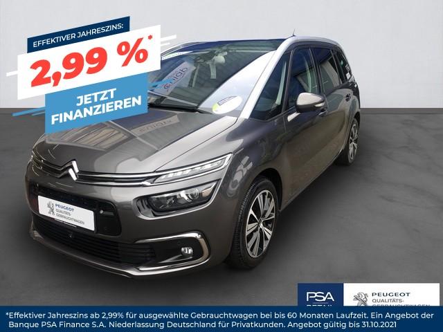 Citroën Grand C4 Picasso SHINE BlueHDi 150 EAT6 AHK PANO PARK-ASS, Jahr 2018, Diesel