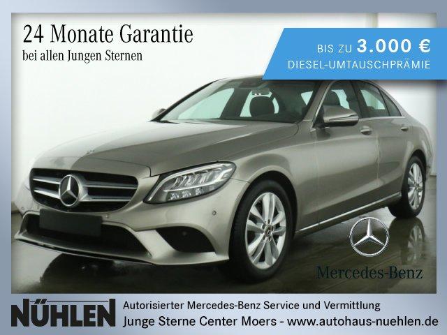 Mercedes-Benz C 200 AVANTGARDE+Automatik+LED+PTS+Kamera Autom., Jahr 2019, Benzin