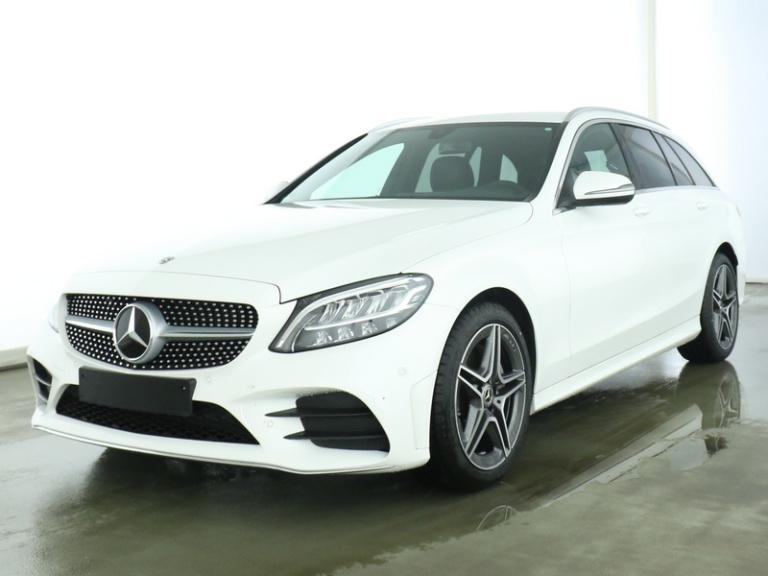 Mercedes-Benz C 200 T AMG+LED+Navi+PDC+SHZ+Tempomat+AppleCarPl, Jahr 2019, Benzin