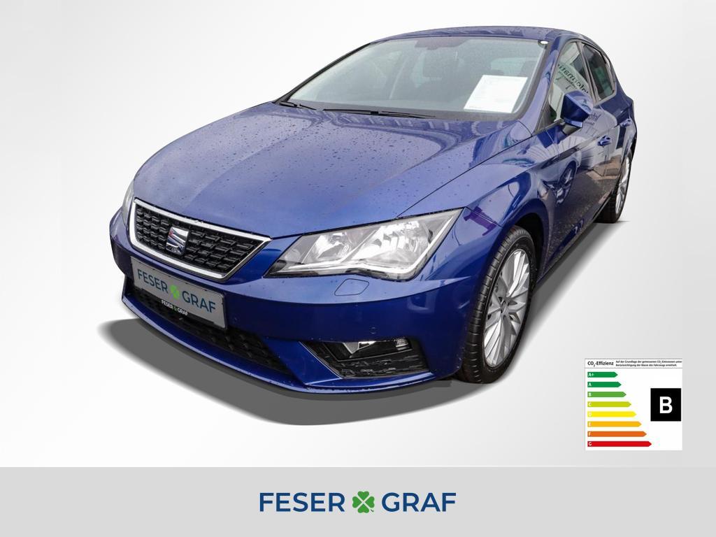 Seat Leon Style 1.5 TSI 96kW Navi DAB EPH vo&hi, Jahr 2020, Benzin