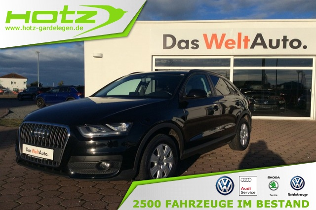 Audi Q3 2.0 TFSI Quattro 1. Hand,Aktionsfinanzierung 1, Jahr 2015, Benzin