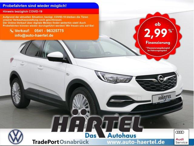 Opel GRANDLAND X EDITION TURBO (+CLIMATRONIC+SITZHEIZUN, Jahr 2018, Benzin