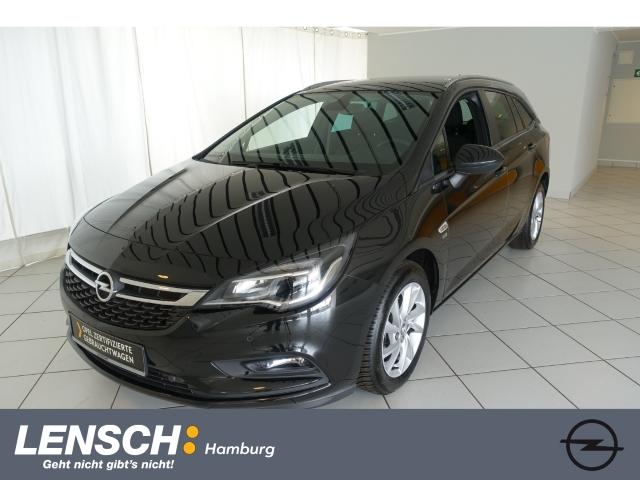 Opel Astra K ST 120 Jahre 1.4 AUT+AGR-SITZ+SITZHZ+AWR, Jahr 2019, Benzin