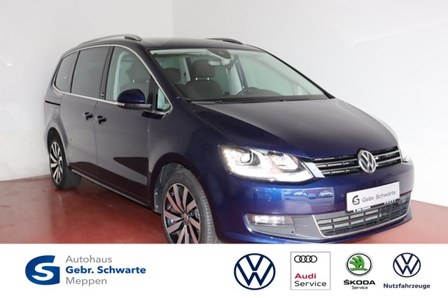 Volkswagen Sharan 2.0 TDI DSG Sound AHK+Navi+Xenon+ACC+DCC, Jahr 2017, Diesel