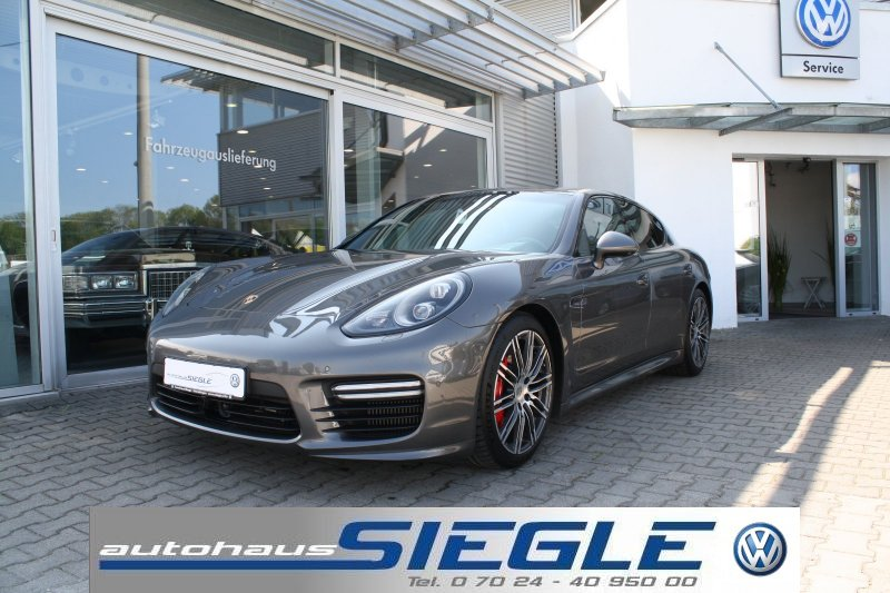 Porsche Panamera Turbo 4.8 LED SSD Sportchrono Carbon Sportdesign + AbGasanlage, Jahr 2014, Benzin