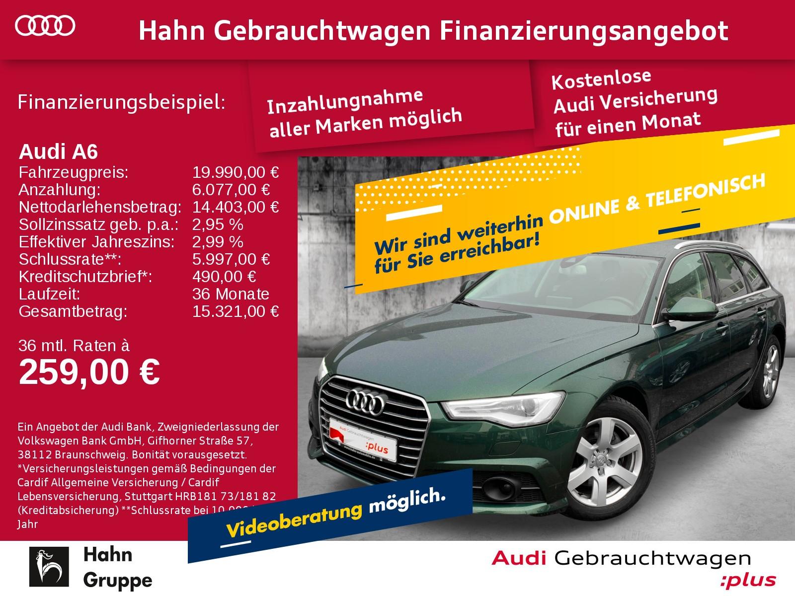 Audi A6 Avant 2.0TDI S-Trc Ultra Xen+ Navi Cam SitzH, Jahr 2017, Diesel
