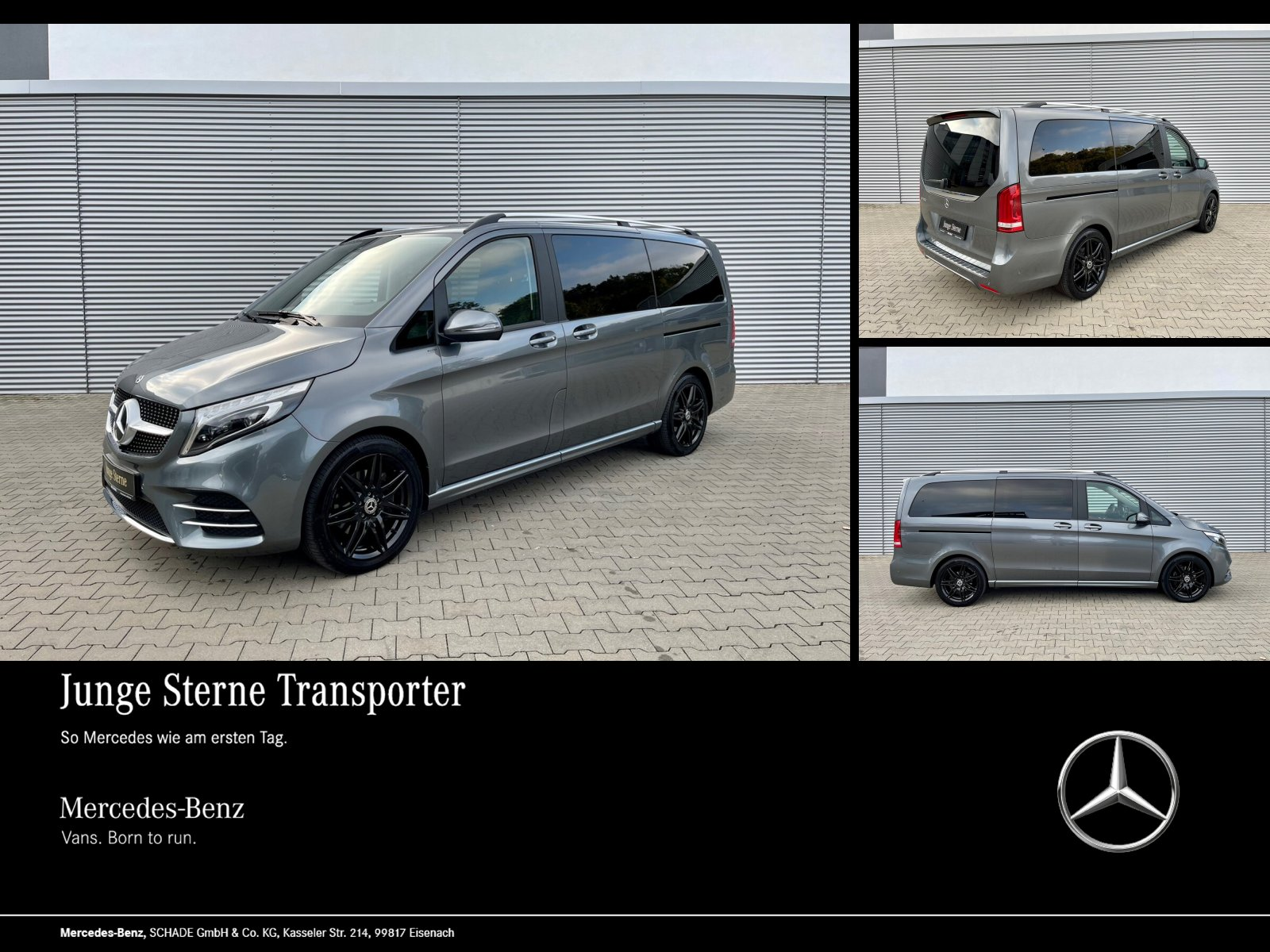 Mercedes-Benz V 300 EDITION AMG-LINE L LED STANDHEIZUNG AHK, Jahr 2019, Diesel
