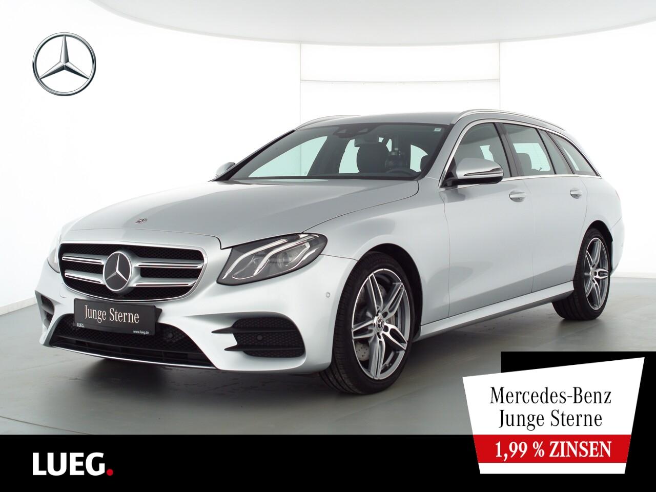 Mercedes-Benz E 450 T 4M AMG+COM+Burm+LED-HP+DistrP+Mem+Kamera, Jahr 2019, Benzin