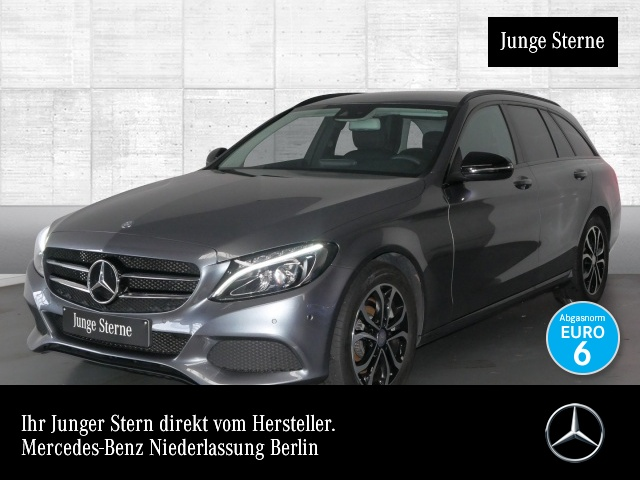 Mercedes-Benz C 300 T Avantgarde Airmat COMAND LED Night Kamera, Jahr 2016, petrol