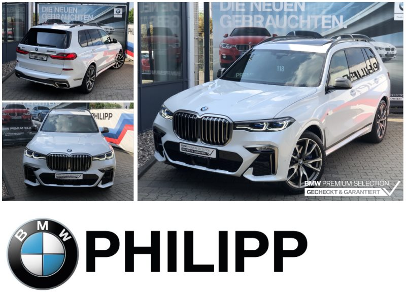 BMW X7 M50d ExicutivePro Night Vision Sky Lounge B&W, Jahr 2019, Diesel