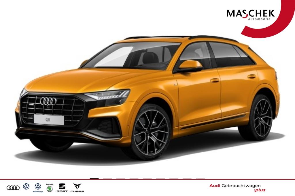 Audi Q8 S line Allradlenk HD-Matrix B&O Pano BlackEdi, Jahr 2018, Diesel