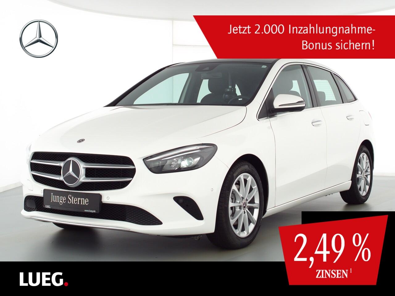 Mercedes-Benz B 180 d Progressive+MBUX+NavP+Pano+LED+Sthzg+RFK, Jahr 2020, Diesel