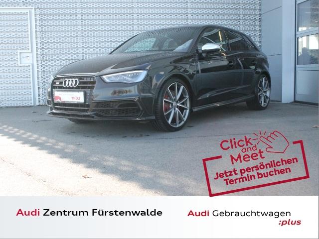 Audi S3 Sportback 2.0 TFSI qu. Stronic LED+NAVI+SIHZ, Jahr 2016, Benzin