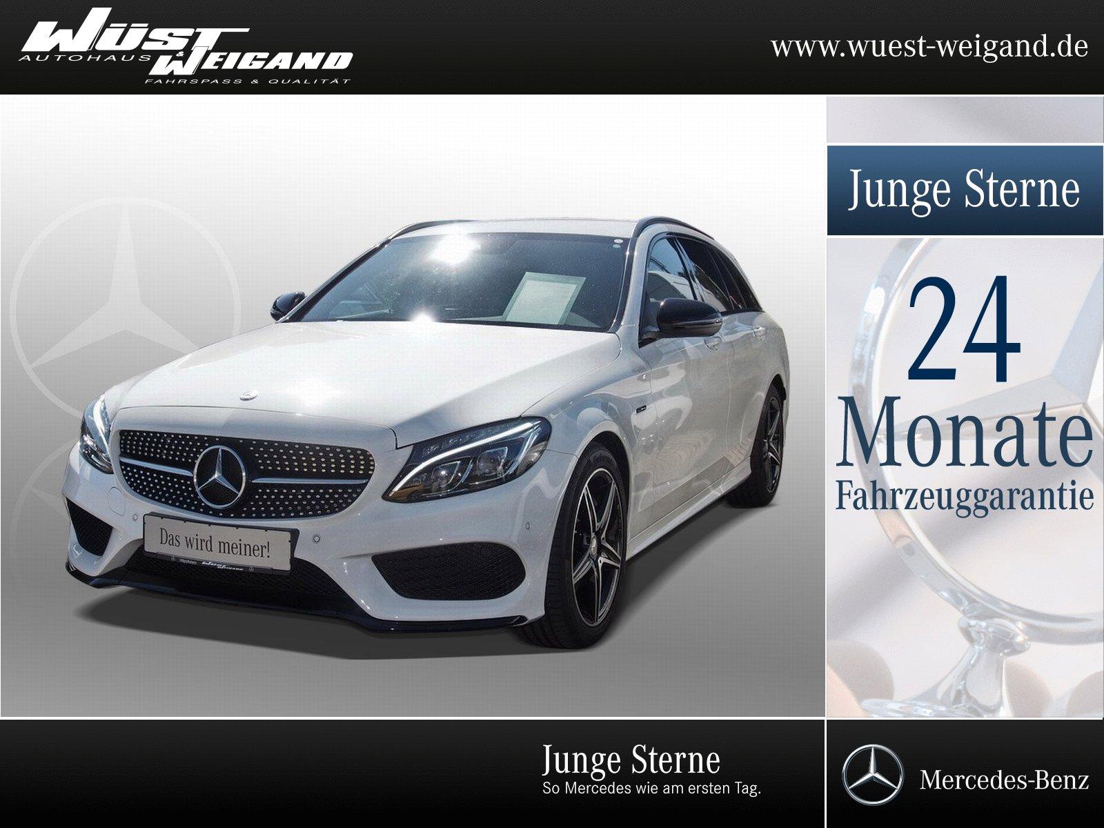 Mercedes-Benz C 450 AMG 4M T Comand+Kamera+Totw.+Night+LED, Jahr 2016, Benzin