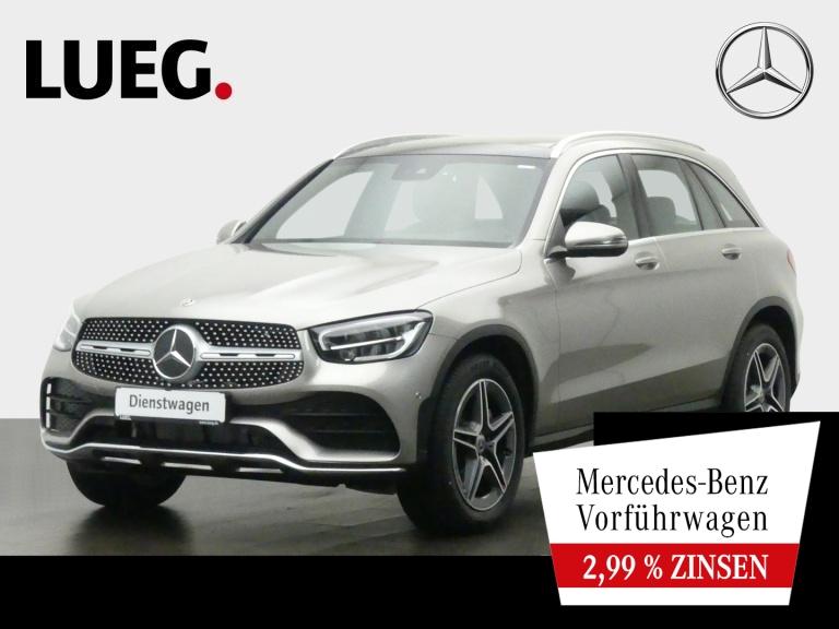 Mercedes-Benz GLC 200 4M AMG+PANO+AHK+TOTW.+SOUND+KAM+NP60T, Jahr 2020, Benzin