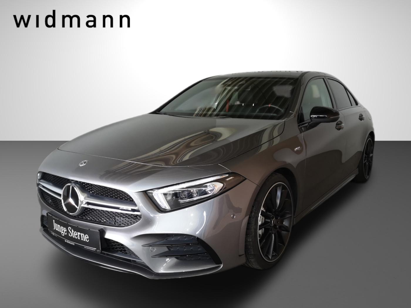 Mercedes-Benz A 35 AMG 4M Burmester*Fahrassist.*Pano.-Dach*LED, Jahr 2019, Benzin