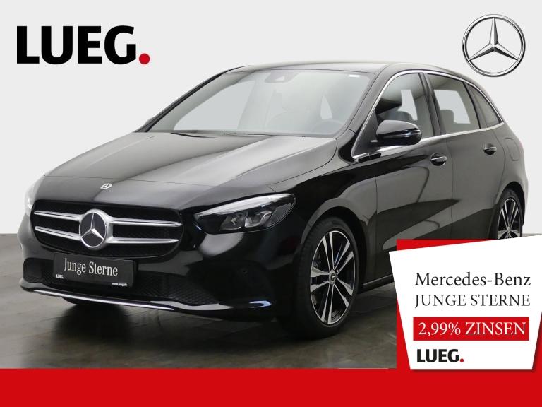 Mercedes-Benz B 180 Progressive+MBUX+NavPrem+LED-HP+AHK+Kamera, Jahr 2019, Benzin
