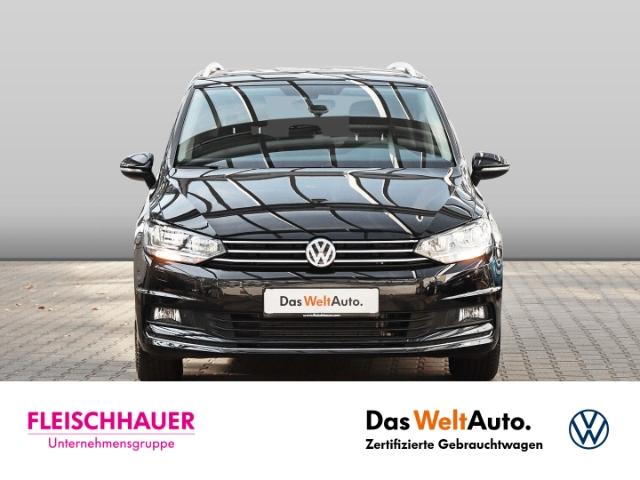 Volkswagen Touran United 1.5 TSI 7-SITZER NAVI KLIMA SHZ PDC AHK, Jahr 2020, Benzin
