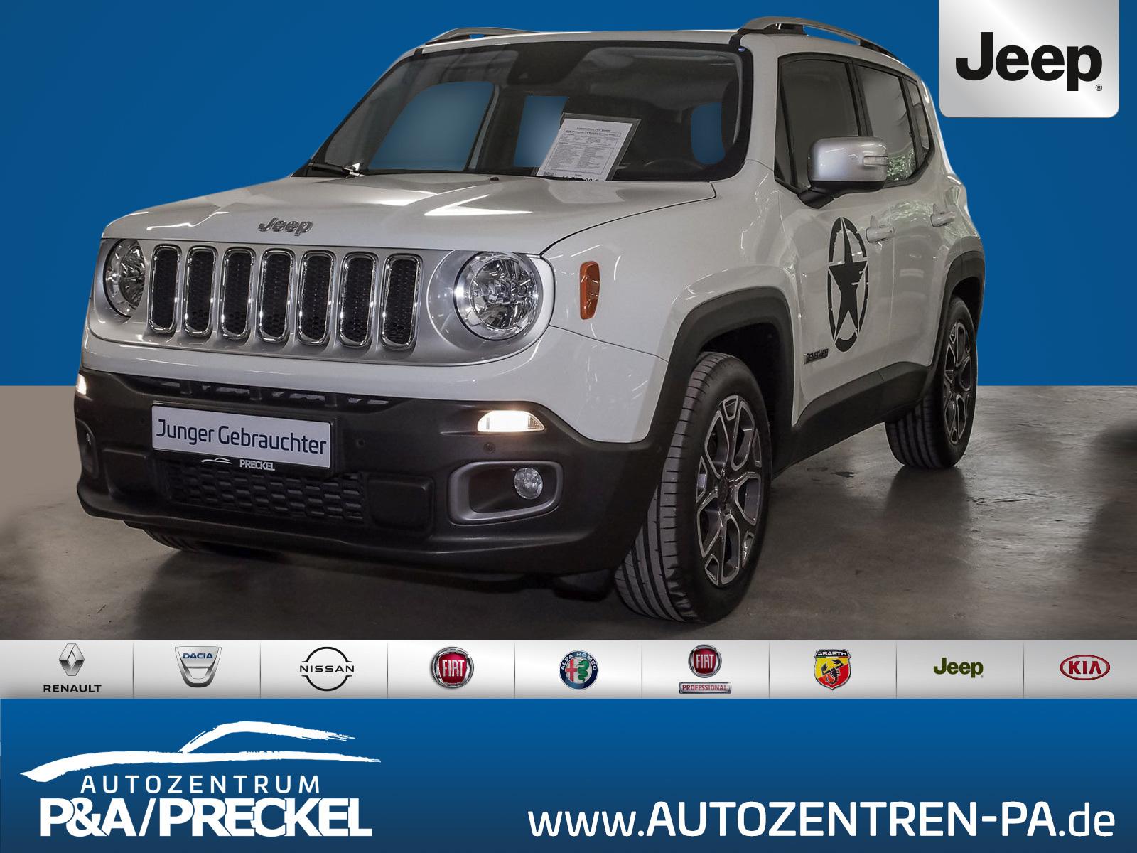 Jeep Renegade 1.4 Limited /Navi/PDC/Spurassist/DAB/, Jahr 2017, Benzin