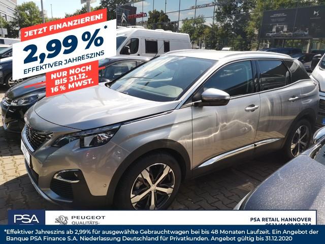 Peugeot 3008 PureTech 130 GPF EAT8 Allure *Kamera,Navi,Shz*, Jahr 2019, Benzin