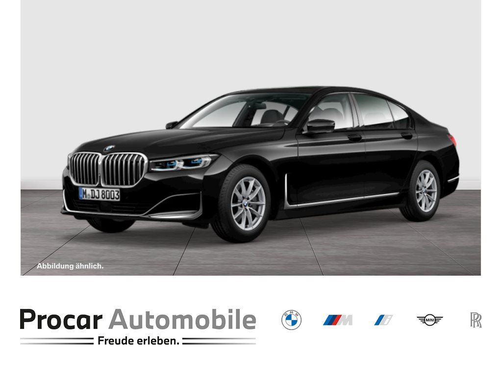 BMW 730d HuD H/K Laser SoftClose Pano Massage DrivAssProf ParkAssProf Standh., Jahr 2021, Diesel