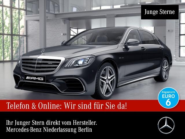 Mercedes-Benz S 63 L 4M AMG PANO Standh. Burmester Exklusiv, Jahr 2018, Benzin