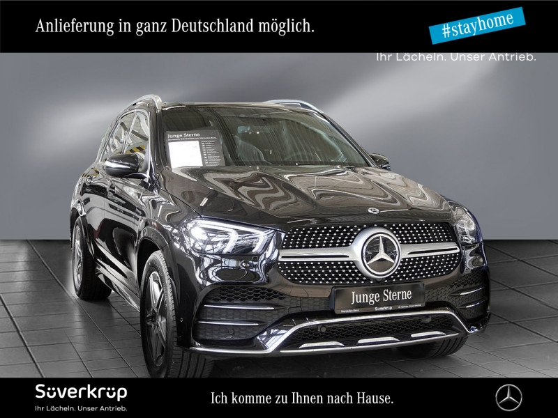 Mercedes-Benz GLE 400 d 4M AMG Line DISTRONIC+AHK+Pano+Kamera+, Jahr 2020, Diesel