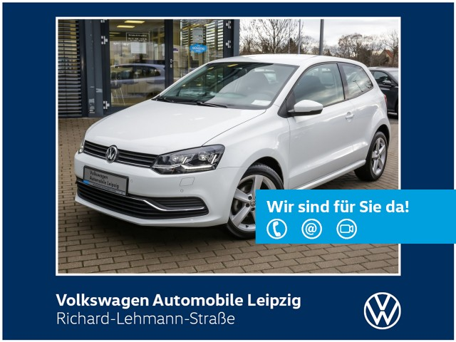Volkswagen Polo Comfortline 1.2 TSI *PDC*SHZ*LED*, Jahr 2017, Benzin