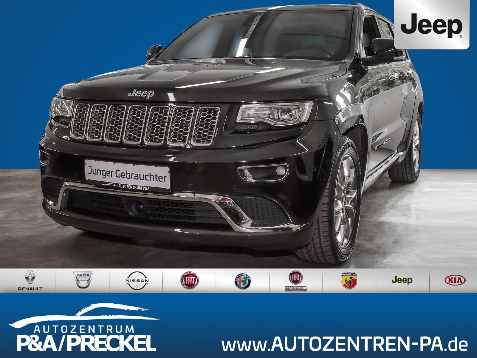 Jeep Grand Cherokee Summit 3.0I /Navi/Pano/Kamera/SHZ, Jahr 2017, Diesel