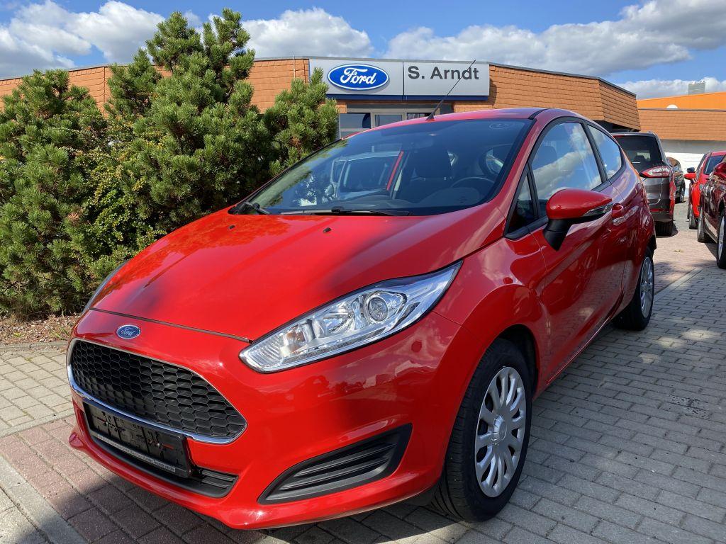 Ford Fiesta 1.25 Klima Frontscheiben- u Sitzheizung, Jahr 2017, Benzin