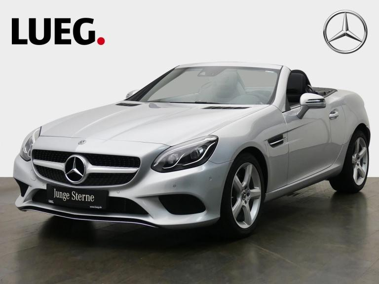Mercedes-Benz SLC 200 COM+Pano+LED-ILS+AIRSCARF+Totw+SHZ+PTS++, Jahr 2019, Benzin