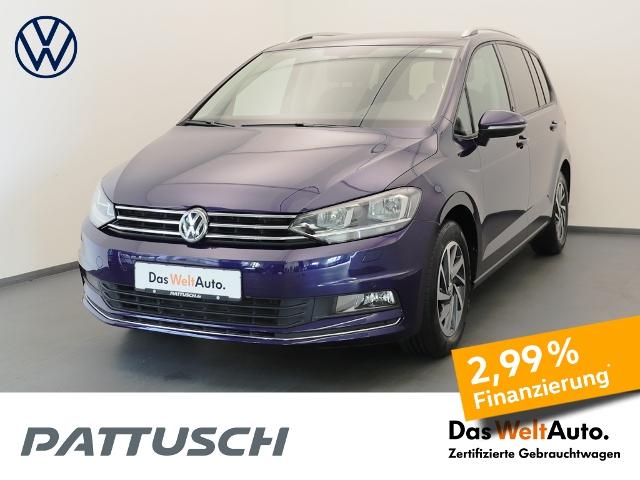 Volkswagen Touran 1.6 TDI Sound Navi ACC Sitzheizung PDC, Jahr 2017, Diesel
