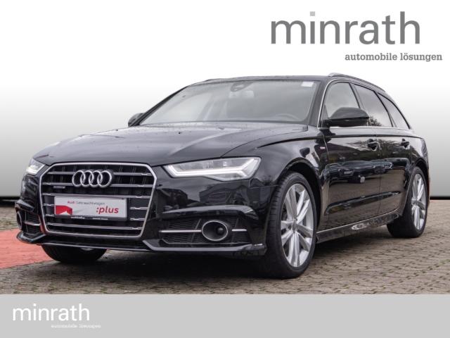 Audi A6 Avant 3.0 TDI quattro S line Leder LED Navi HUD ACC Rückfahrkam., Jahr 2018, Diesel