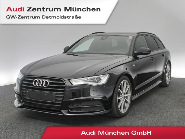 "Audi A6 Avant 3.0 TDI S line 19"" Standhz. HUD Navi Xenon Side/LaneAssist Teilleder S tronic, Jahr 2018, diesel"