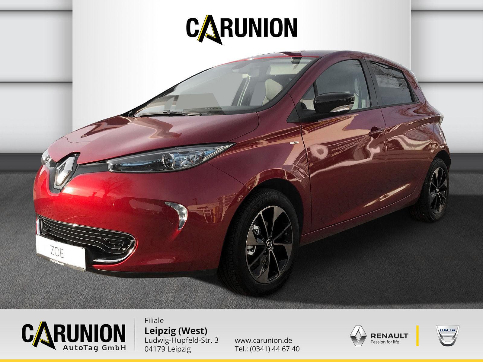 Renault ZOE LIFE Batteriemiete BOSE 41 kwh, Jahr 2018, Elektro