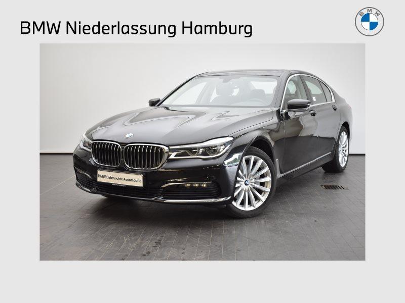 BMW 730d Limousine Gestiksteuerung LED GSD RFK RTTI, Jahr 2017, Diesel