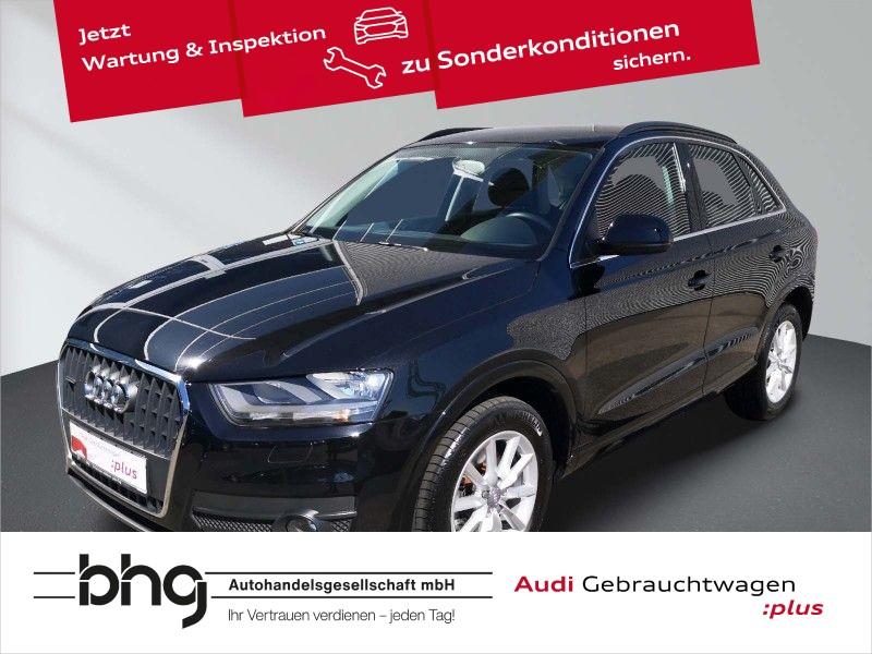 Audi Q3 2.0TDI quattro Chorus EPH Klima, Jahr 2013, Diesel