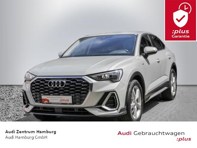 "Audi Q3 Sportback S line 35 TFSI S tronic ALU 19"" AHK, Jahr 2020, petrol"