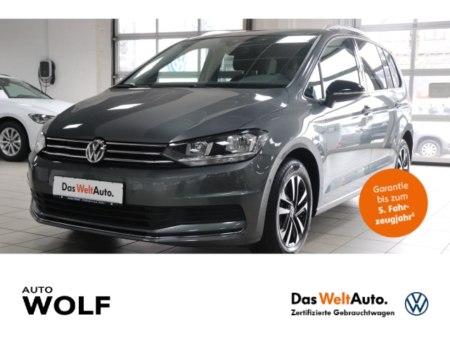 Volkswagen Touran IQ.DRIVE 2.0 TDI BMT Start-Stopp EU6d-T Navi ACC Parklenkass. Rückfahrkam., Jahr 2019, Diesel