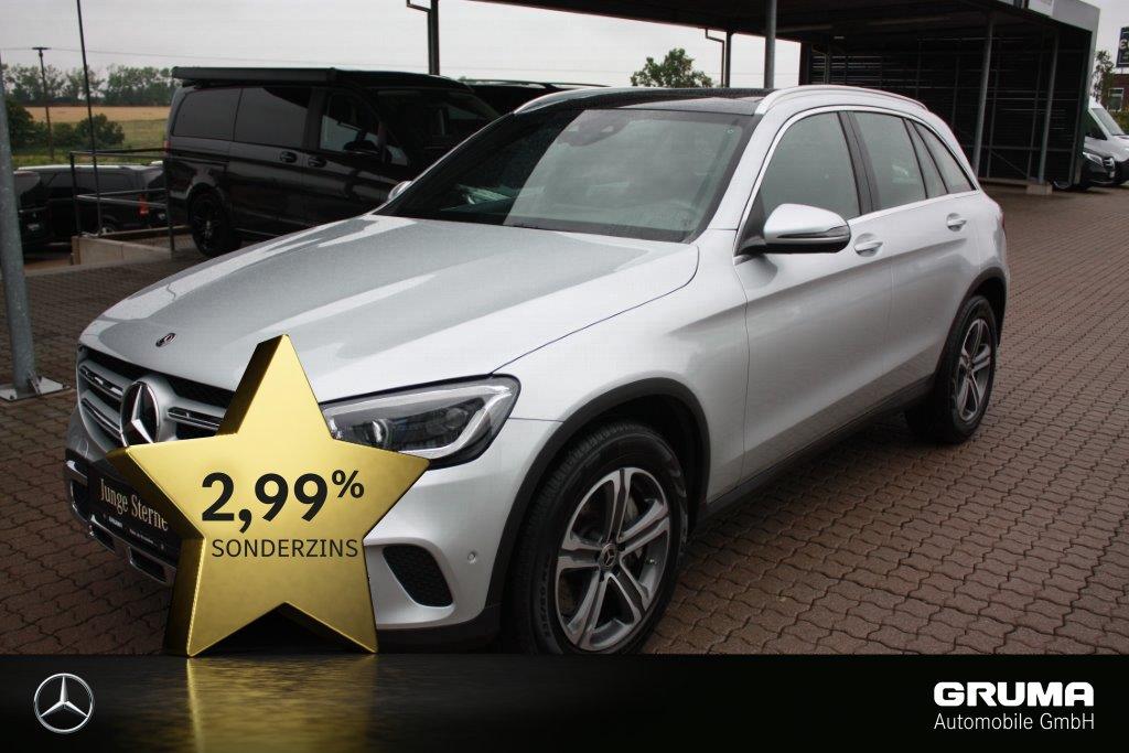 Mercedes-Benz GLC 400 d 4M PANO+MULTIBEAM+SPURPAKET+AHK+AMG, Jahr 2020, Diesel