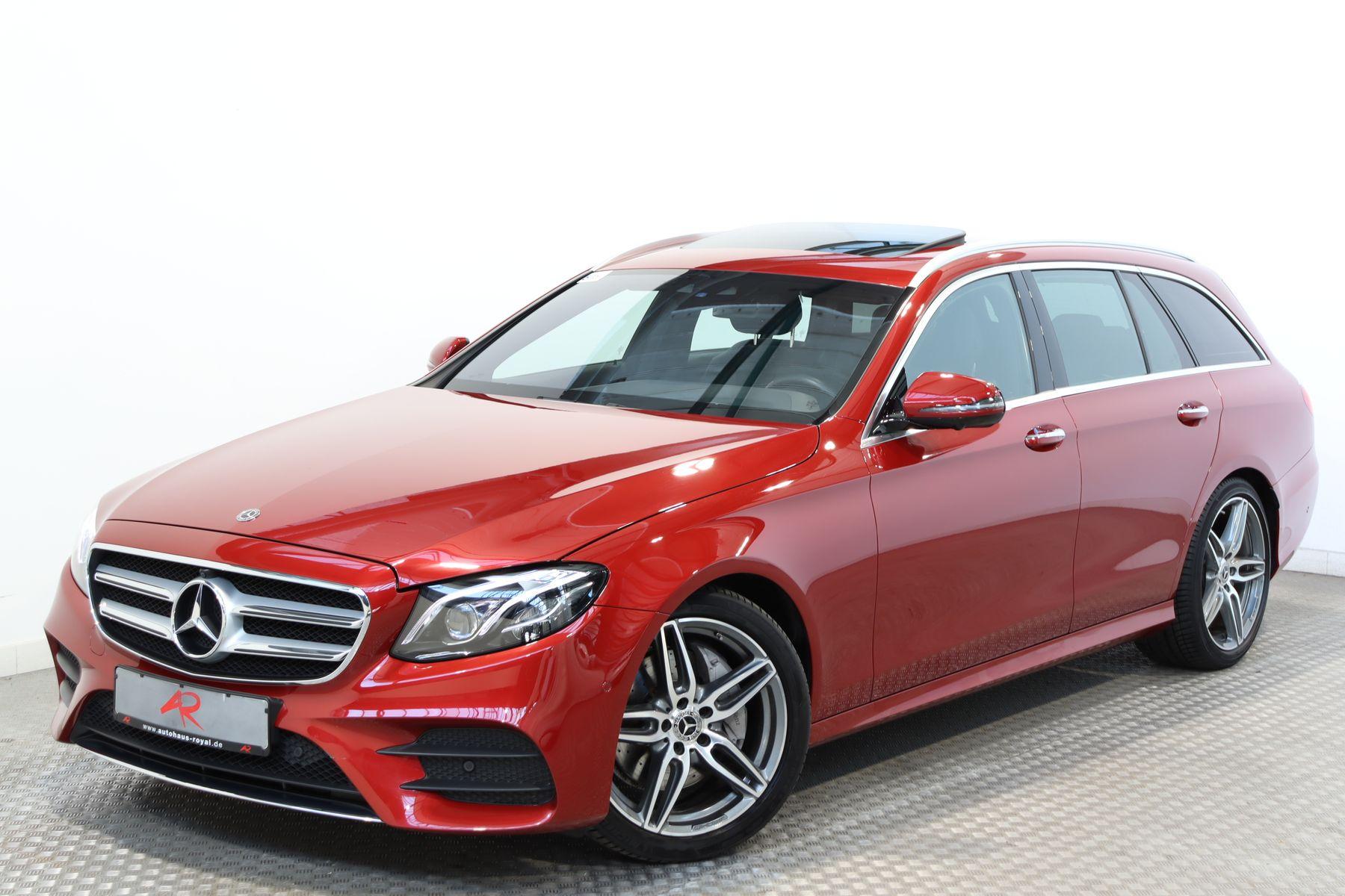 Mercedes-Benz E 250 T AMG WIDESCREEN,HEADUP,360GRAD,FERNPARKEN, Jahr 2017, Benzin