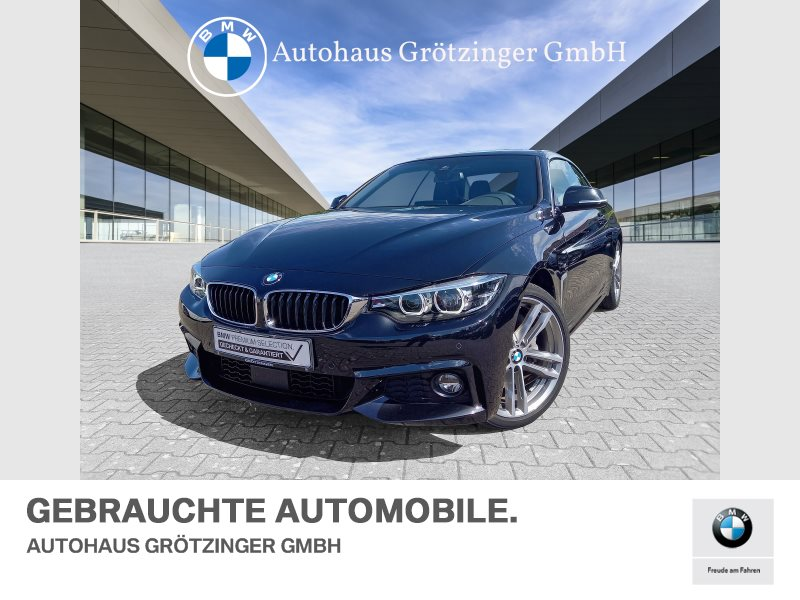 BMW 440i M-SPORTPAKET+LENKRADHEIZUNG+RÜCKFAHRKAMERA, Jahr 2018, Benzin