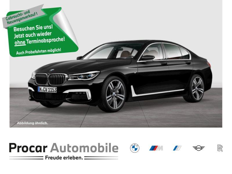 BMW 740d xDrive Limousine M-Sport Glasdach 20 Laser Massage, Jahr 2017, Diesel