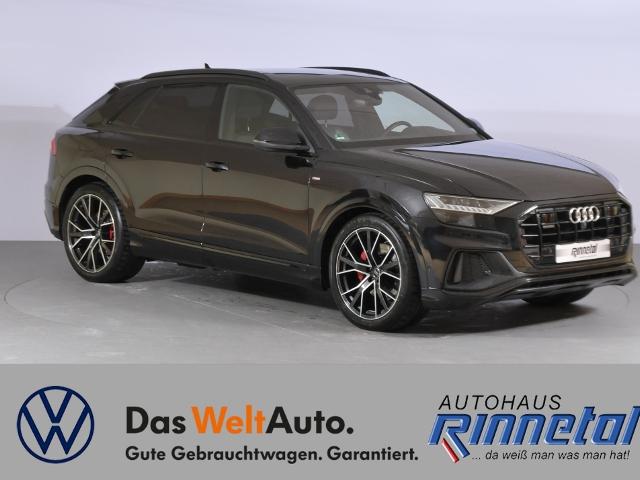 Audi Q8 3.0 V6 TDI quattro tiptronic S line Standhzg., Jahr 2018, Diesel
