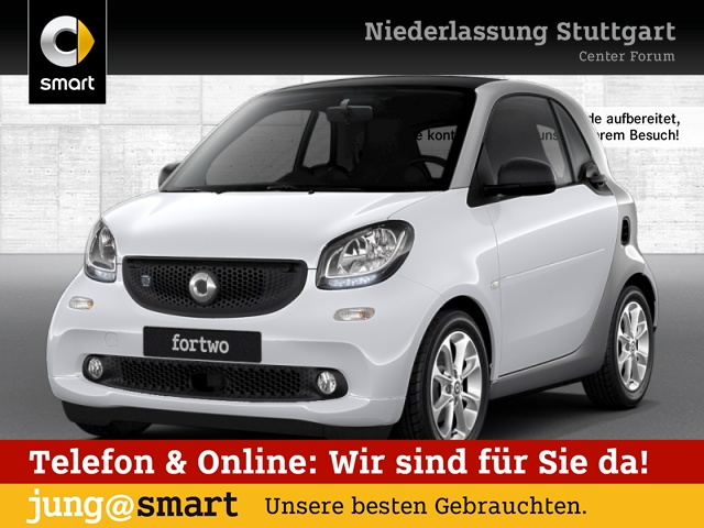 smart fortwo coupé 60kWed passion cool&Audio Pano, Jahr 2017, Elektro
