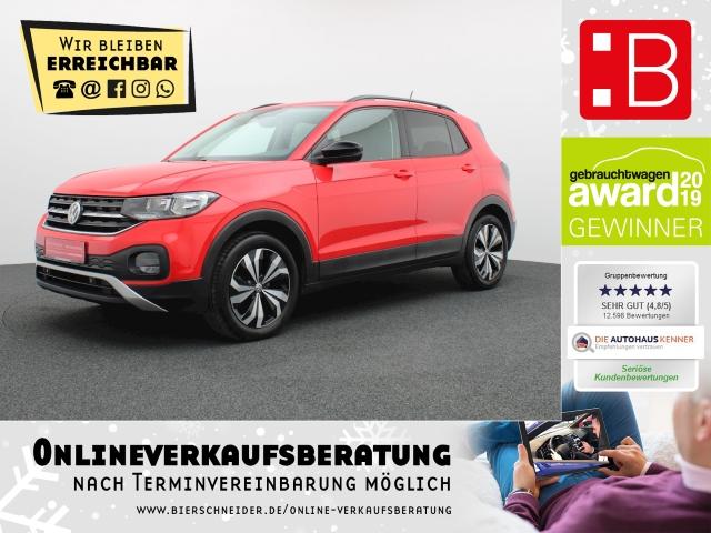Volkswagen T-Cross 1.0 TSI Life NAVI ACC PDC SH DAB 5-J-GARANTIE, Jahr 2019, Benzin